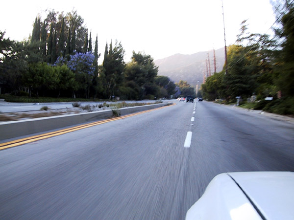 rolling up angeles crest