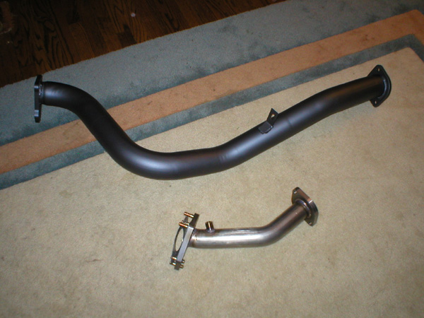 my downpipe & uppipe